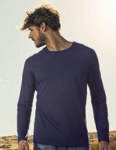 Men´s Roundneck T-Shirt Longsleeve